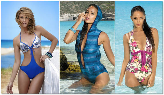 Самые модные купальники 2013